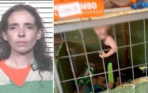 Boy, 1, found locked in cage in Tennessee mobile home during animal rescue mission