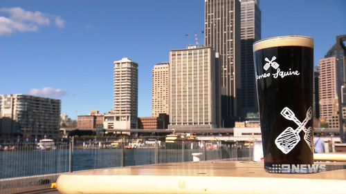 Now, you can taste the earthy, rich concoction at the Quay's Overseas Passenger Terminal. Picture: 9NEWS