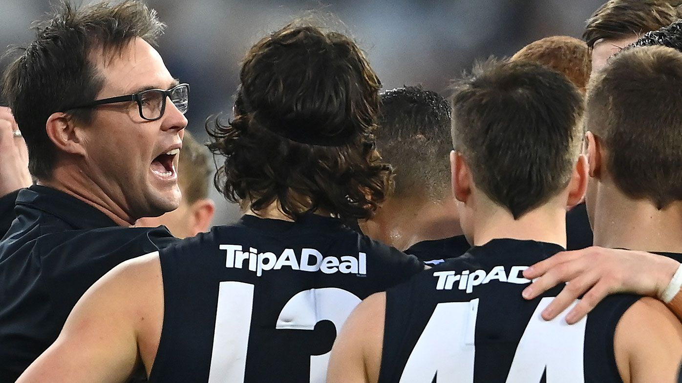 Carlton players have 'given up on the coach', says Kane Cornes after latest embarrassment