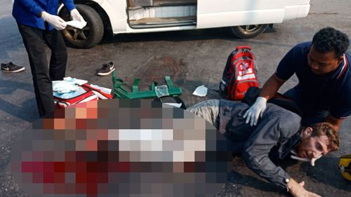 The 29-year-old was hit by a  sugar cane truck as it made an illegal turn. (Supplied)