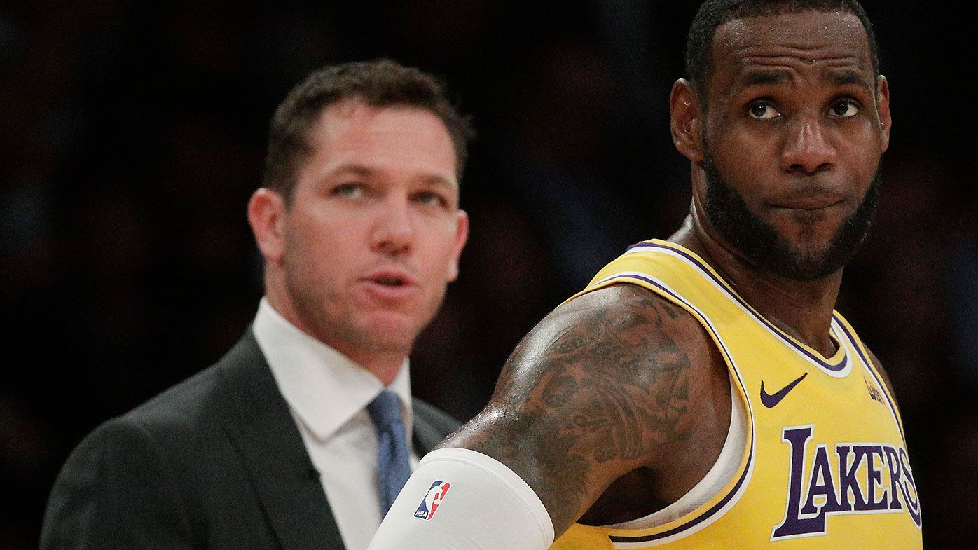 f4c6d45c6b4 Los Angeles Lakers mutually part ways with Luke Walton