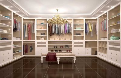 10.Personalised wardrobes on arrival and stylists / dressers