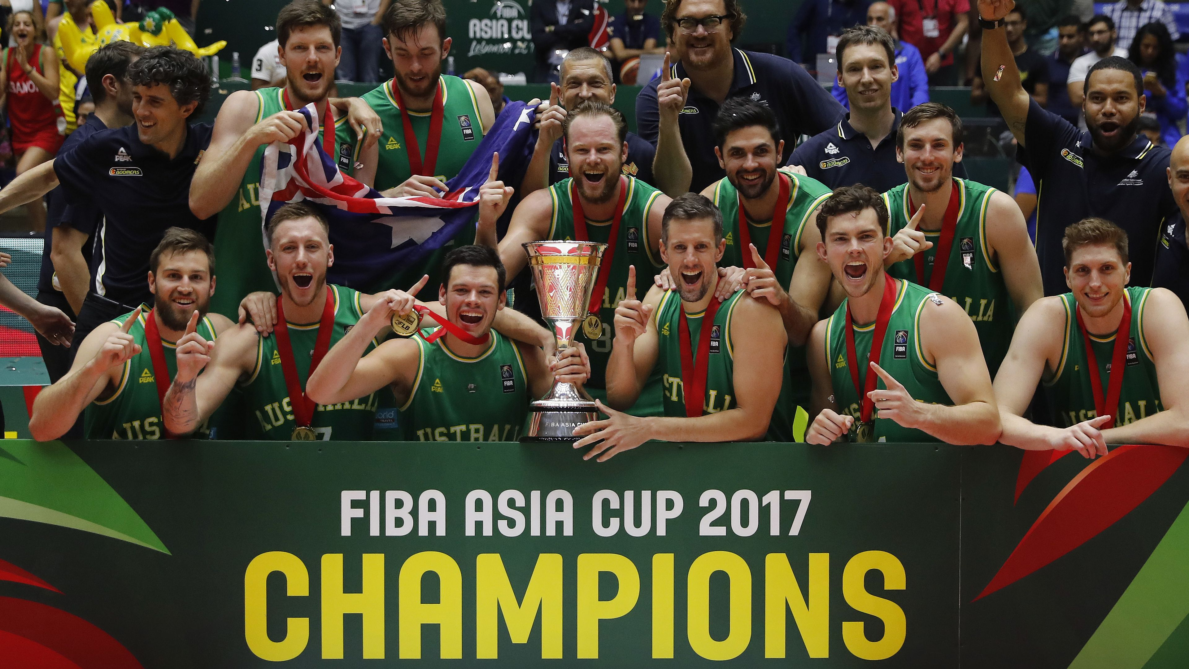 Boomers win FIBA Asia Cup but controversially miss out on All Star selection
