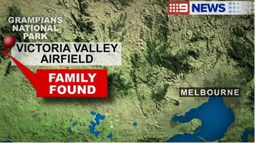 Family missing in the Grampians found safe and well