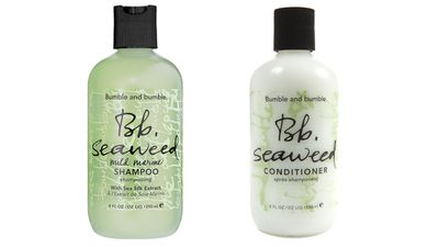 "<p>For those who wash their hair every day:</p><p><a href=""http://mecca.com.au/bumble-and-bumble/seaweed-shampoo/I-001989.html#sz=36&start=37"" target=""_blank"">Seaweed Shampoo and Conditioner, $32 each, Bumble and Bumble at Mecca.</a><br /><br /></p>"