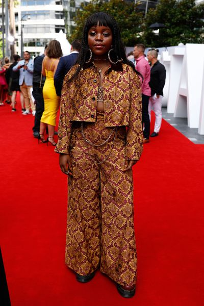 Singer Tkay Maidza at the 2017 ARIA Awards