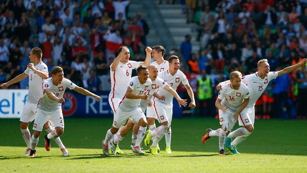 Poland sink Swiss on penalties