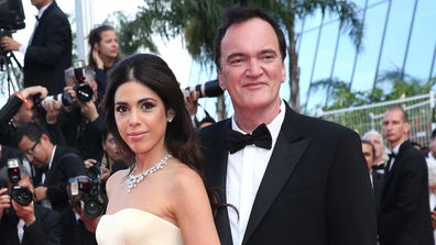 Quentin Tarantino and his wife Daniella Tarantino