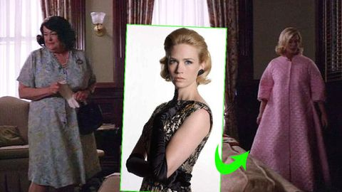 How <i>Mad Men</i> producers covered up January Jones' pregnancy (Spoiler alert!)