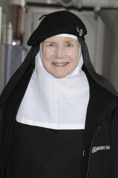 Mother Dolores Hart attends a screening of the documentary God Is the Bigger Than Elvis at Film Forum on April 25, 2016 in New York City.