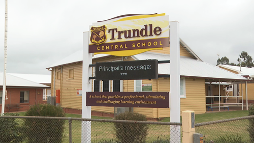 Trundle Central School is located in remote NSW, 55 kilometres northwest of Parkes.