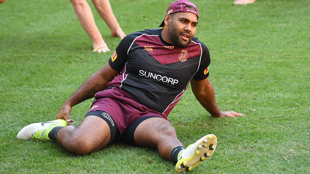 Maroons forward Sam Thaiday is backing Queensland's young forwards. (AAP)