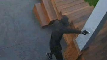 Tradie almost assassinated on his doorstep by masked gunman