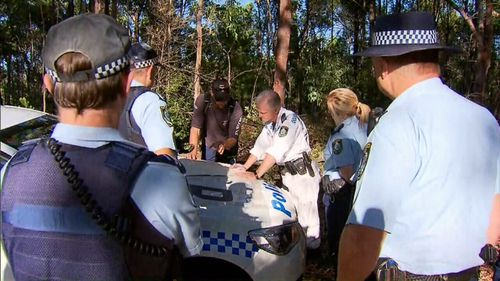 A police rescue operation was also launched to find Mr Churchill after no word had come from him by 9.30pm (Supplied).