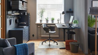 Creating a work space that blends with the rest of your home