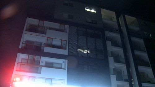 Around 30 to 40 residents in neighbouring blocks were evacuated. Picture: 9NEWS