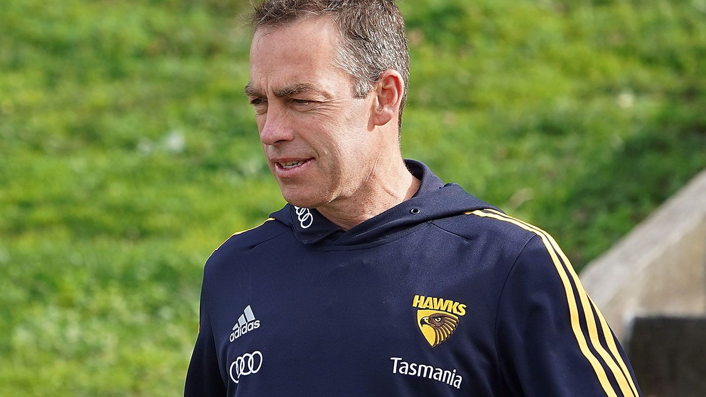 Hawthorn AFL coach Alastair Clarkson