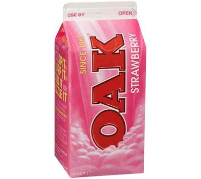 <strong>Oak 600ml Strawberry Milk</strong>