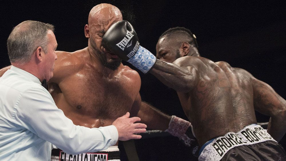 Wilder wins, calls out Kiwi boxer Parker