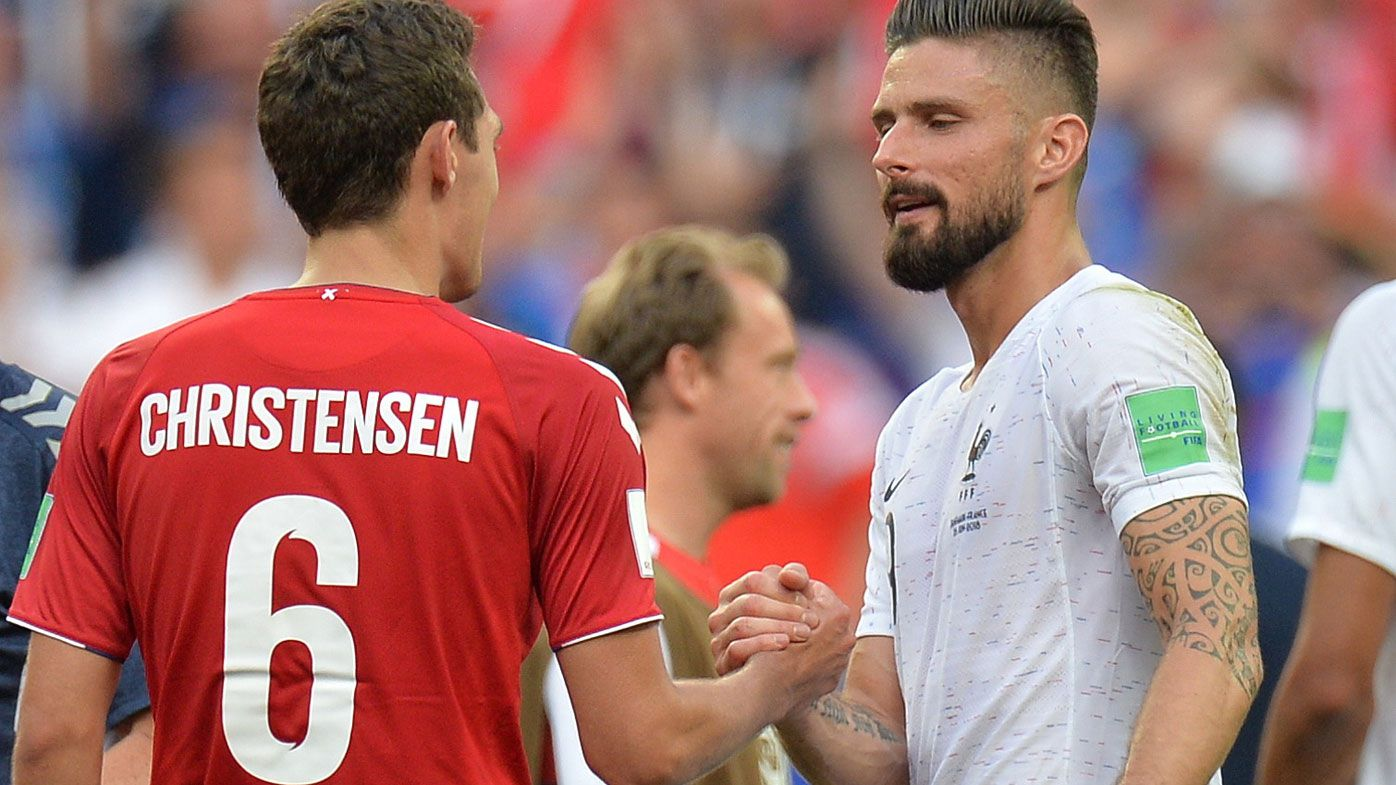 Andreas Christensen and Olivier Giroud