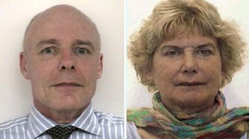 William McCarthy, 59, and Francisca Boterhoven De Haan, 60, went bushwalking in the Ettrema Gorge within the Morton National Park, west of Nowra, on Saturday.