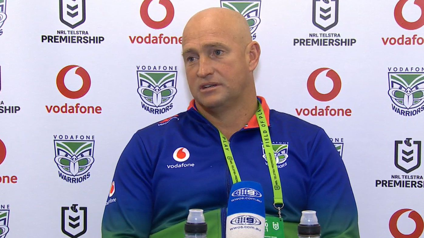 Warriors coach Nathan Brown rips NRL's sanctions towards Dragons, slams 'poor' refereeing