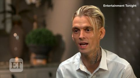 Aaron Carter opens up on his body image issues