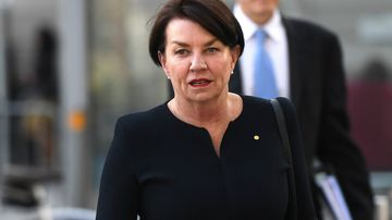 Former Queensland premier Anna Bligh arrives at the Commonwealth Law Courts in Melbourne. Picture: AAP