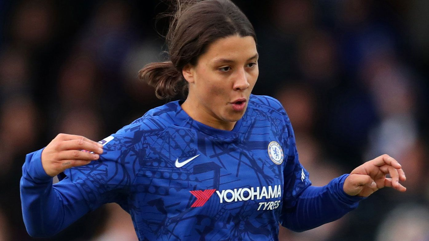 Sam Kerr kicks off Chelsea career with victory, missed chances but classy assist