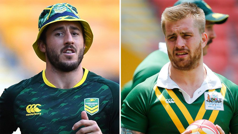 Ben Hunt and Cameron Munster.