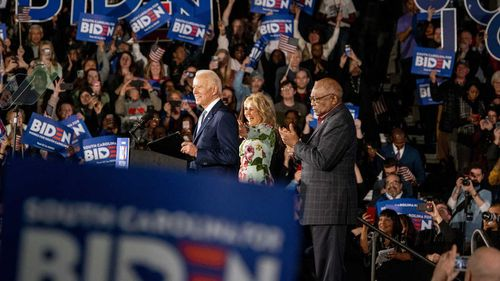A massive win in South Carolina on Saturday has propelled Joe Biden back into serious contention.