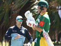 Warner falls in grade cricket clash with Smith