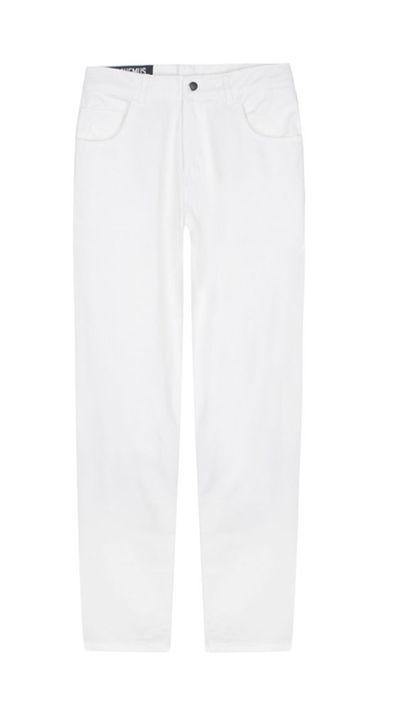 "<a href=""https: www.mychameleon.com.au="" ""="""" jean-blanc-p-3287.html?typemf=""women"">Le Jean Blanc (The White Jean), $179, Jacquemus</a>"