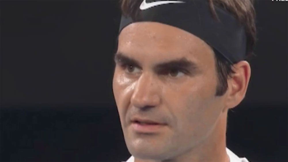Roger Federer loses his cool in Australian Open semi-final win over Hyeon Chung
