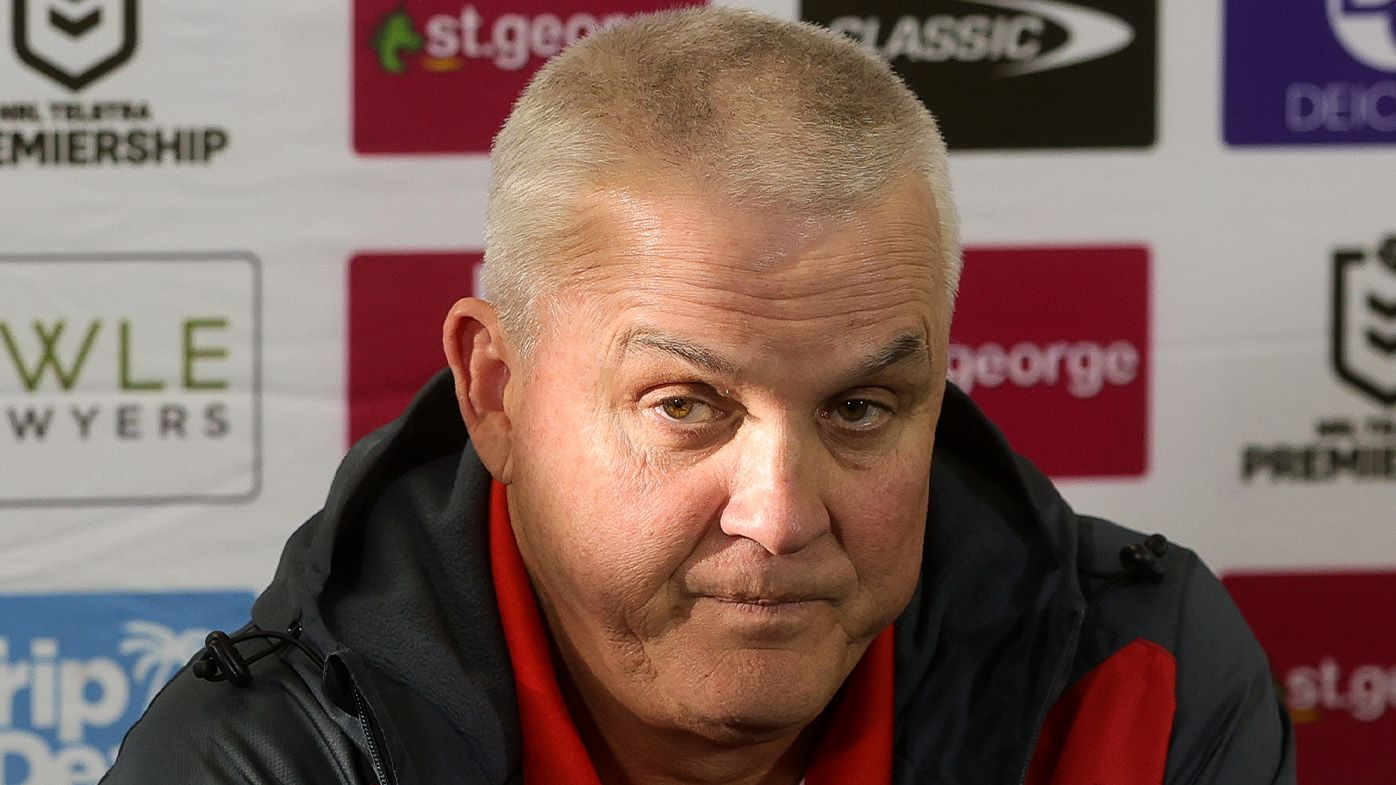 Anthony Griffin's blunt message amid barbecue saga following Dragons' loss to Titans