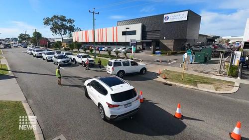Long lines at WA testing clinics