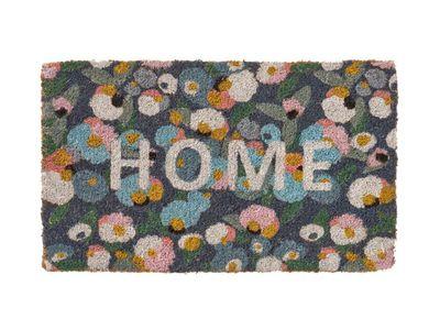 Home Republic Home Confetti Floral Coir Doormat Regular — Adairs