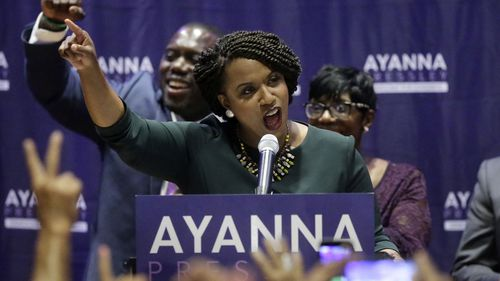 Ayanna Pressley was first elected because of a primary upset win in Boston.