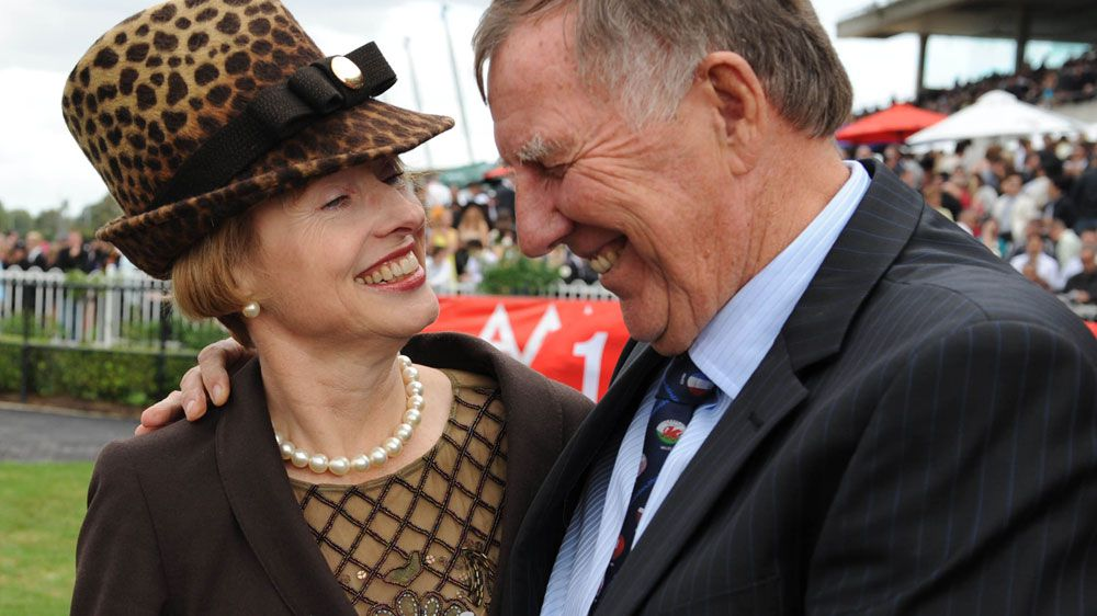 Gai Waterhouse (L) and John Singleton. (AAP-file)