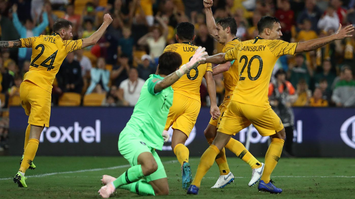 Football: Last second VAR controversy salvages Socceroos 1-1 draw with South Korea