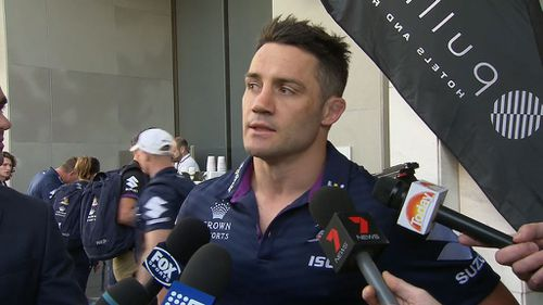Cooper Cronk is yet to make a decision on his future.