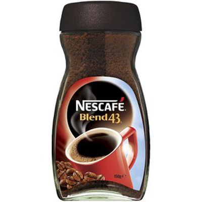 <strong>Nescafe Blend 43 instant coffee</strong>