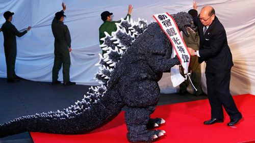 Japanese region awards Godzilla citizenship
