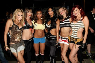 Pussycat Dolls, Ashley Roberts, Jessica Sutta, Melody Thornton, Nicole Scherzinger, Kimberly Wyatt and Carmit Bachar