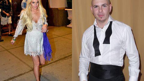 Lindsay Lohan is suing Pitbull over song lyrics