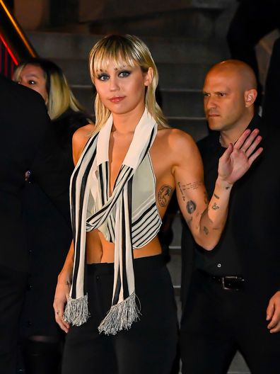 Miley Cyrus, Marc Jacobs, New York Fashion Week