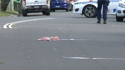 The alleged incident was witnessed by her three children. (9NEWS)