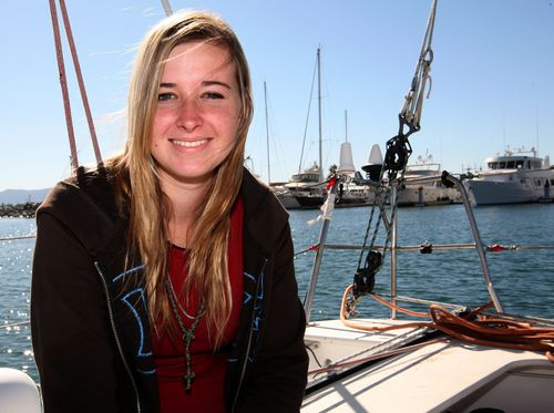 Abby Sunderland set sail aged 16 to try and become the youngest person to sail around the world solo.