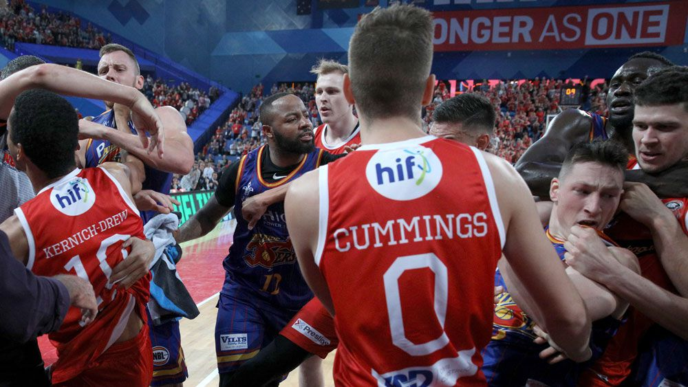 Adelaide coach Joey Wright says 36ers have plenty to fight for after brawl with Perth Wildcats
