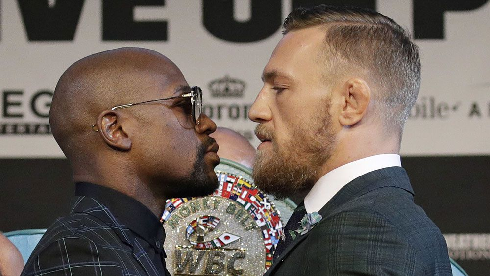 Conor McGregor vows to 'f--- this boy up' ahead of Floyd Mayweather bout